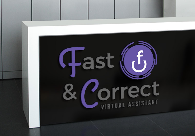 logo fast and correct